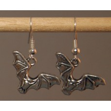 Pair of Bat Earrings