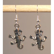 Pair of Lizard Earrings