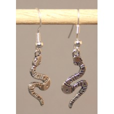 Pair of Snake Earrings