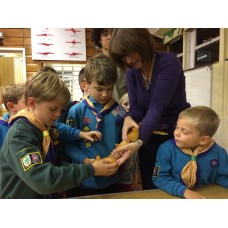 Visits to Guides, Scouts, Brownies, Rainbows, Cubs and Beavers