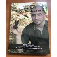 New for 2017! 1640 Brazil - The First Tarantula Spider (2 x DVD package)